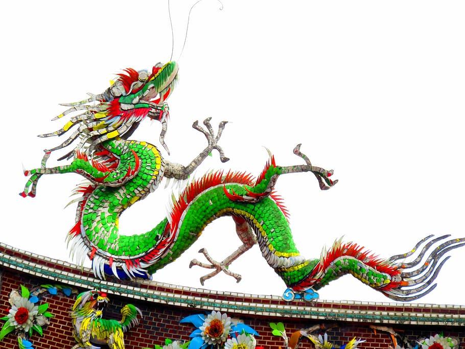 Historia de los dragones chinos