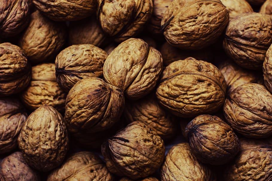 Alimentos que producen esperma en los hombres, nueces