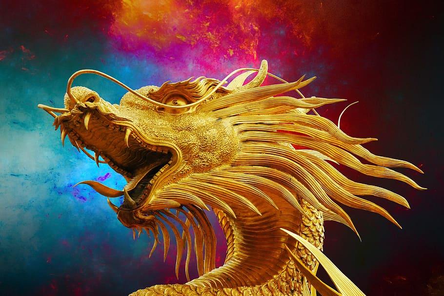 Tipos de dragones chinos